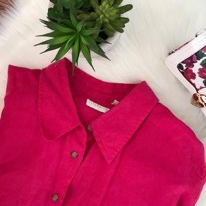 Liz Claiborne Women's Linen Shirt  👚